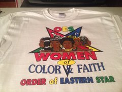 WOMEN OF COLOR AND FAITH OES TEE