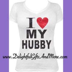 I LOVE MY HUBBY TEE