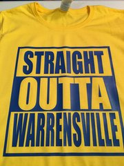 STRAIGHT OUTTA WARRENSVILLE TEE