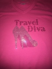 TRAVEL DIVA BLING