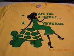 ARE YOU A TURTLE? YBYSAIA TEE