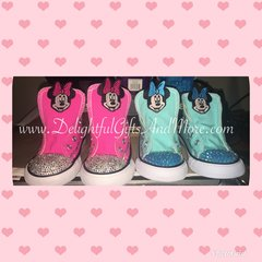 YOUTH BLING CHUCK TAYLOR CONVERSE ALL STARS