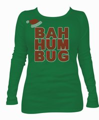 BAH HUM BUG RHINESTONE BLING TEE