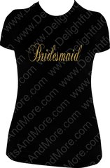 BRIDESMAID SPARKLY TEE