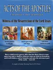 Acts of the Apostles Witness of the Resurrection of the Lord Jesus By HG Hutto