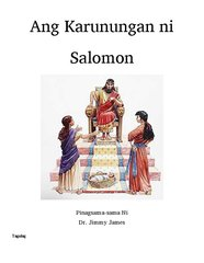 Wisdom of Solomon in Tagalog By Dr. Jimmy James