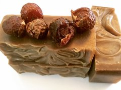 Soap Nuts & Coconut Milk Kefir Shampoo Bar