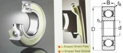 6206 ZZE Nachi Double Shield 30 X 62 X 16