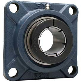 """NCF211-32JE FYH 4 Bolt Flange Mounted Ball Bearing 2"""" Bore Dia., Concentric Collar"""