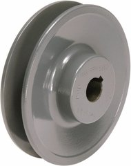 "AK25X1/2 Finished Bore Sheave, 1/2"" Bore, Uses 3L, A Belt, 1 Groove"