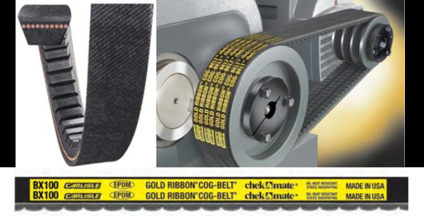 AX56 GOLD RIBBON COG-BELT