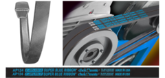 DP255 SUPER BLUE RIBBON V-BELT