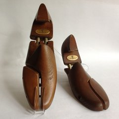 J M Weston Split Hinged Dark Wood Men's Shoe Trees UK 7 EU 41M Decor Props