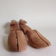 Harry Rosen Cedar Wood Men's Shoe Trees Expanders Stretchers Display Props