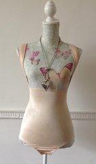 Secret Possessions Body Shaping Control Open Bust Bodysuit Underwear Shape-wear