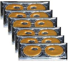 Lior Gold Paris Luxe 24K Golden Eye Mask (6-Pieces)
