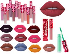 Lime Crime Matte Velvetines - Liquid Matte Liptick available in 61 Shades