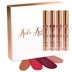 Koko Kollection Set Kylie Cosmetics matte lipsticks & gloss collection