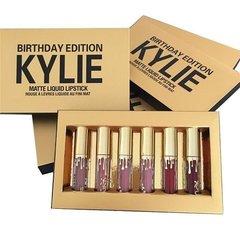 Kylie Matte Liquid Lipstick Birthday Edition 6pcs Set