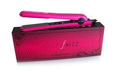 "Beauty Frizz Professional Straightening Iron 1.25"" Hot Pink"