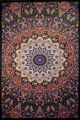 Glow in the Dark India Star Tapestry