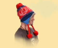 Grateful Dead SYF Ski Hat Red
