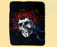Grateful Dead Bertha Classic Fleece Throw