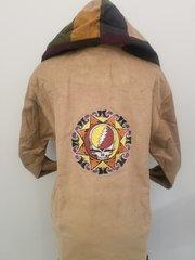 Grateful Dead Tribal SYF Tan Corduroy Hoodie