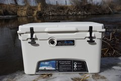 45 Quart Permafrost Roto-Molded Cooler (includes FREE cutting board and hanging wire basket)