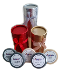 Cylinder of Spa Soaps Gift Pak