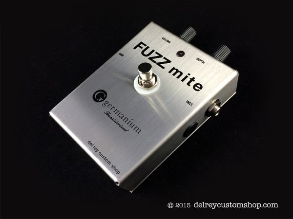 Fuzz Mite Germanium Version Fuzz SS Deluxe Version