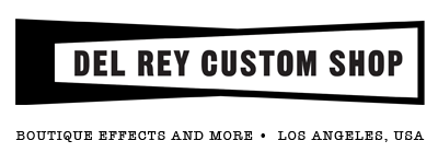 Del Rey Custom Shop Guitar Effect Pedals