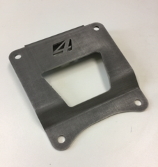 RZR RS1 Rear Radius Rod Chassis Plate (RAW)
