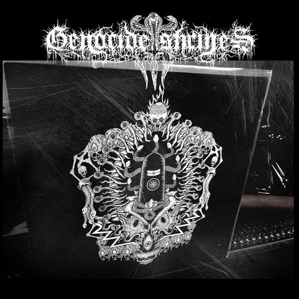 Genocide Shrines - – Manipura Imperial Deathevokovil: Scriptures Of Reversed Puraana Dharmurder LP ( Vinyl ) VFR!