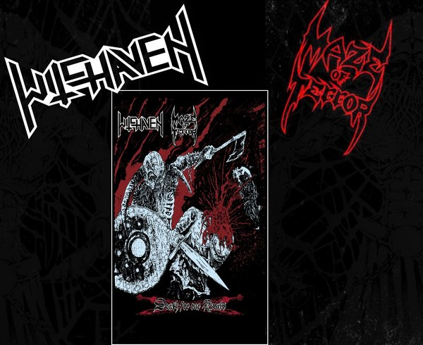 Witchaven / Maze Of Terror - Death for our Rival's Split ( Cassette )