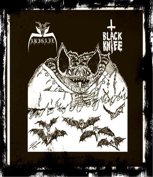 "Abigail / Black Knife - split ( 7"")"