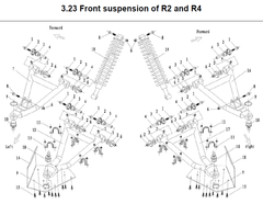 R2-R4 Front Suspension Parts