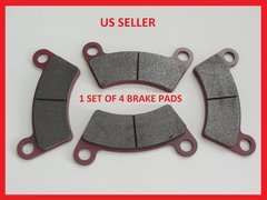 Round Hole Brake Pads 4 Pads all joyners except 650cc