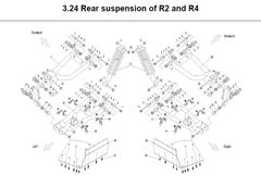 R2-R4 Rear Suspension Parts
