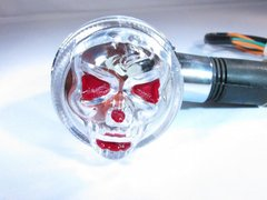 Clear Skull Marker Lights.Black lens available