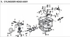250cc Cylinder Head