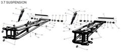 RL800 Rear Suspension Parts