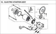 250cc Starter