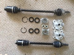 "New Style C/V Axle ""Upgrade"" Complete kit.600 both sides with UNMW bushings"