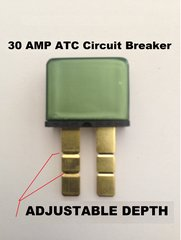 30 AMP Modified Reset Circuit Breaker