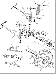 250SV Front Suspension Parts