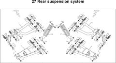 C2-C4 Rear Suspension Parts