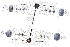 RL1100 Driveline Parts