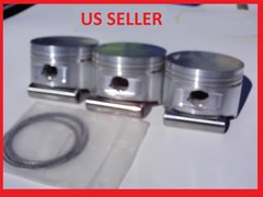 800CC Forged Pistons Standard Compression (9.5:1) up to .070