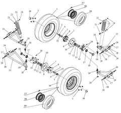 650SS Front Suspension Parts